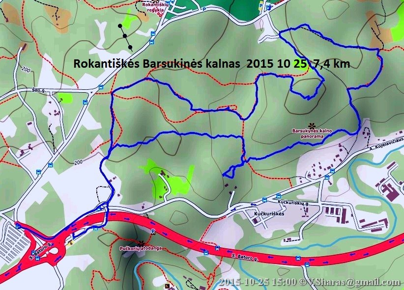 Rokantiškes Barsukinė 2015-10-25