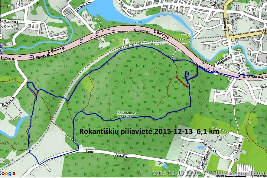 Rokantiškių Piliavietė 2015-12-13
