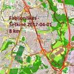 Fabijoniškės-Šeškinė  2017-04-01 nuotraukos